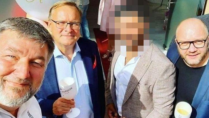 Klaus Stieringer und Oberbürgermeister Andreas Starke (v.l.)