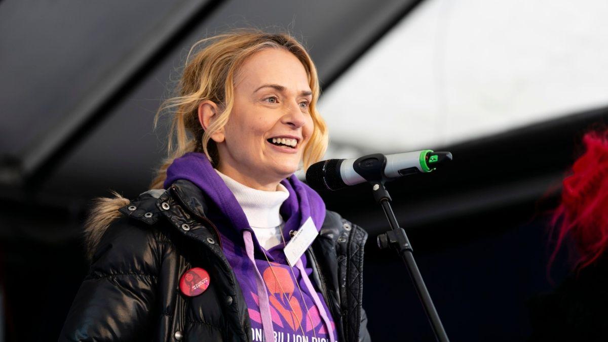Hilft Frauen, die Gewalt erleben: Aktivistin Romy Stangl