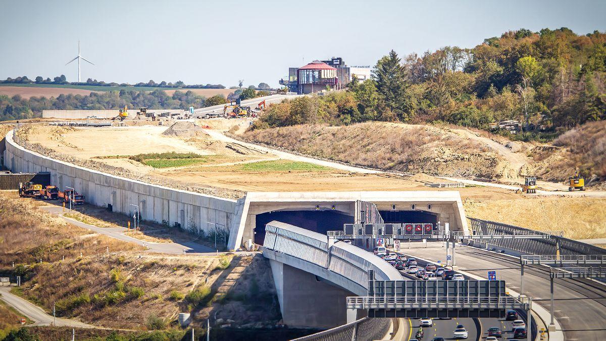 Katzenbergtunnel in Würzburg