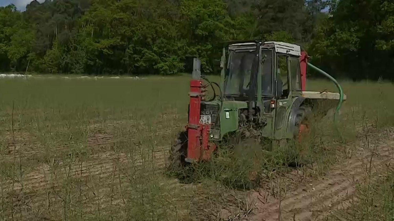 Düngender Traktor