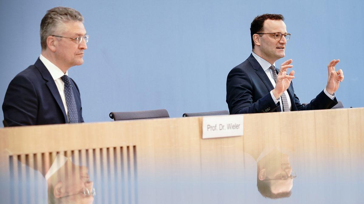 Bundesgesundheitsminister Jens Spahn und RKI-Chef Lothar Wieler