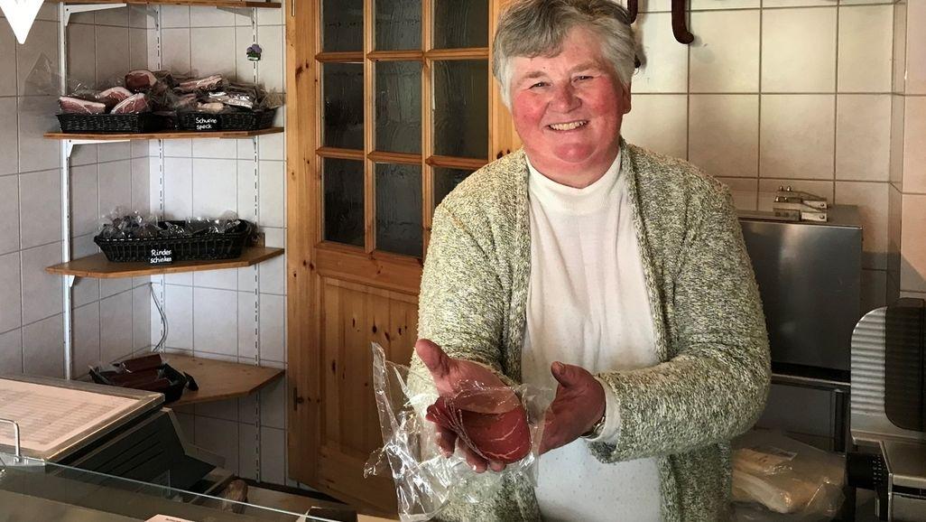 Ist demnächst möglicherweise auch in einer Abholstation erhältlich: Die von Margarete Alt hergestellte Wurst.