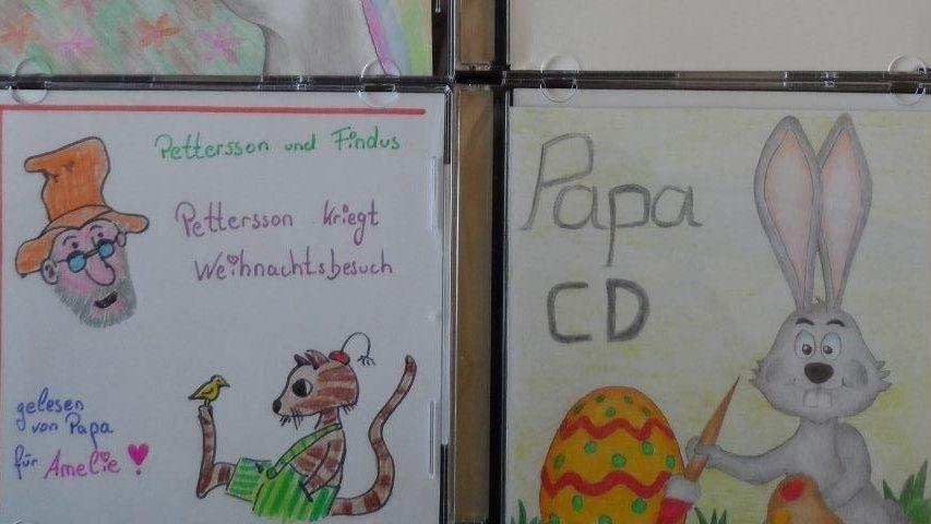 Die CD-Cover haben die Väter selbst gestaltet