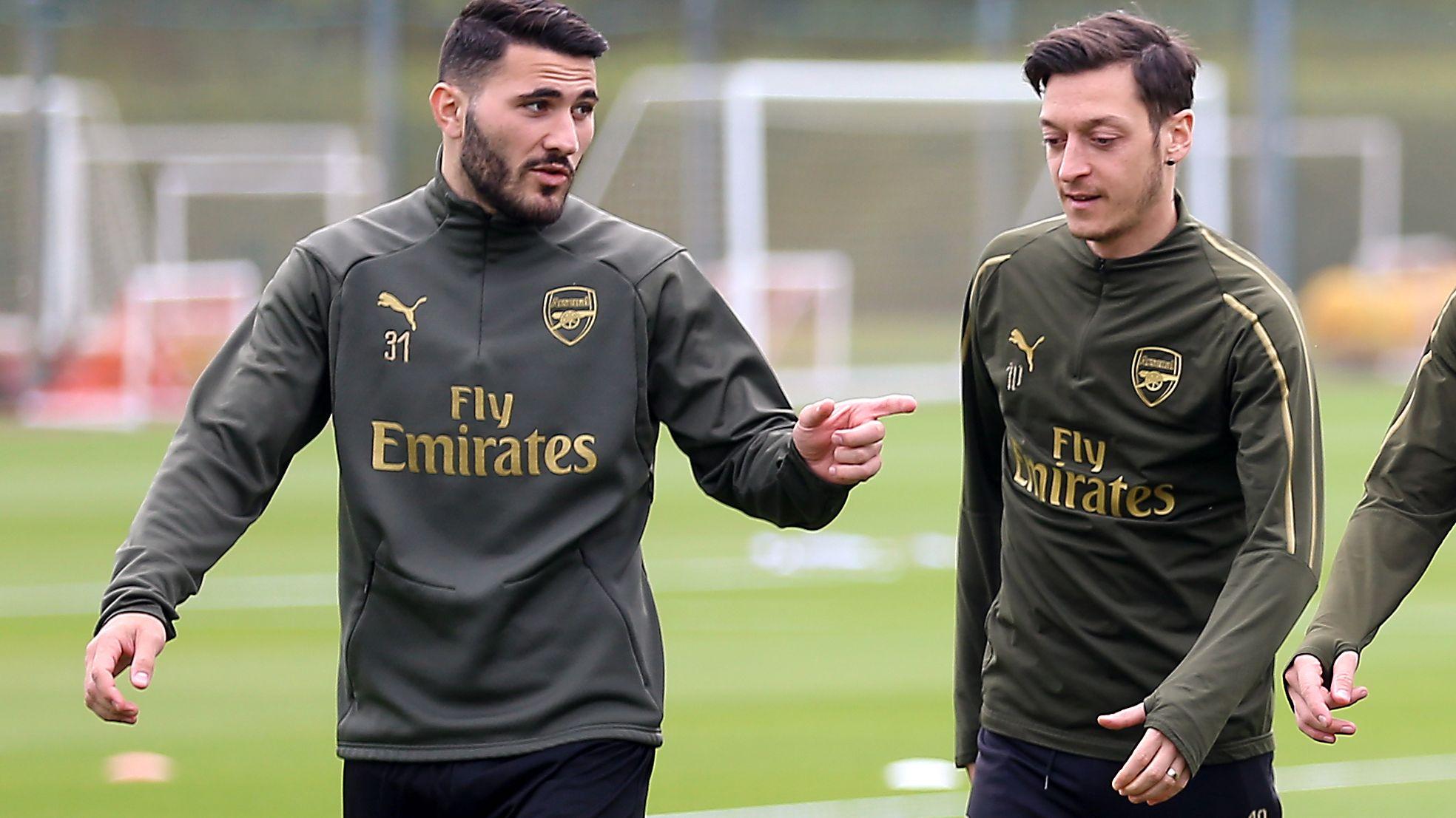 Überfall: Arsenal-Fußballer Özil und Kolasinac trainieren wieder