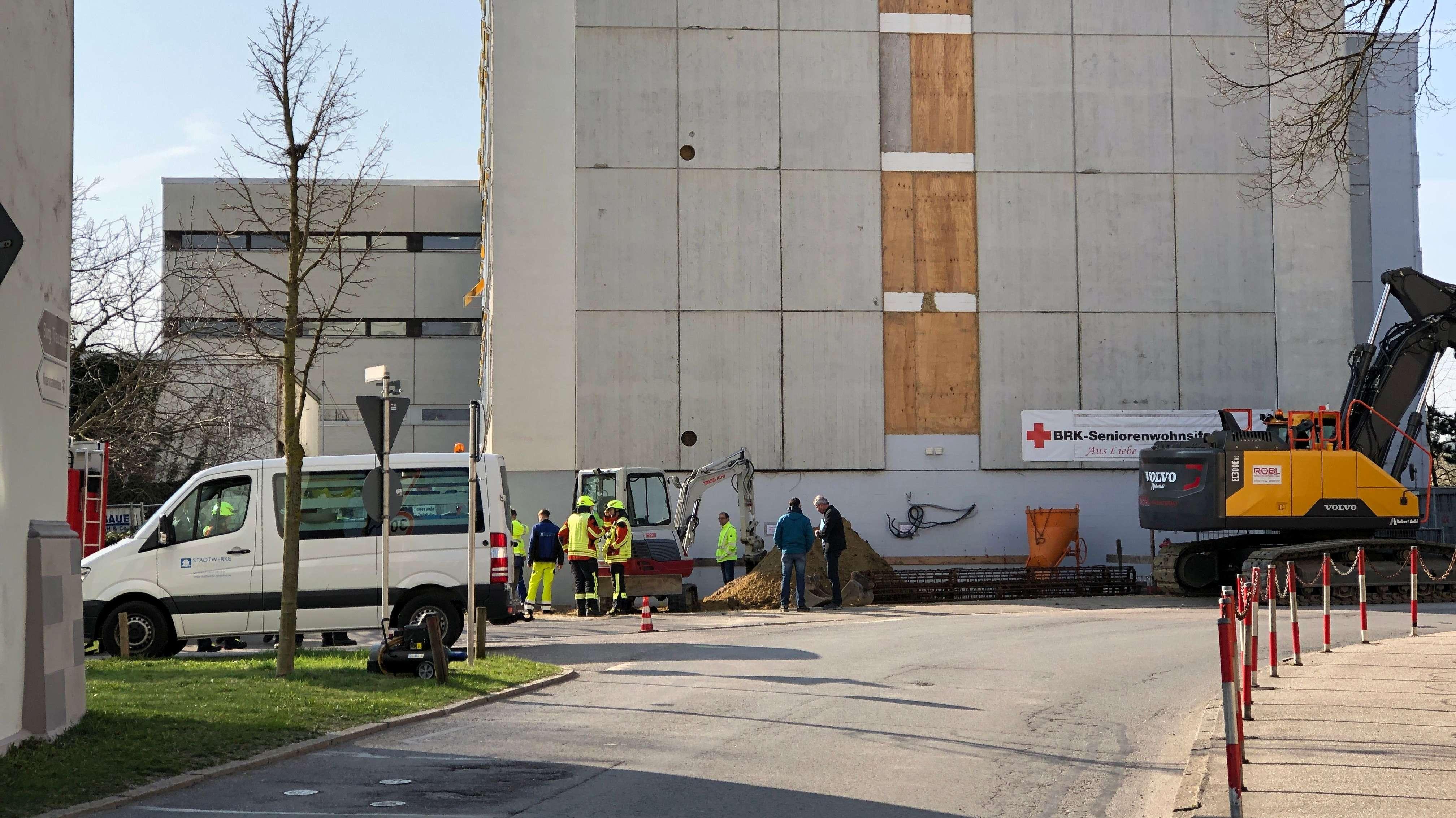 Das Seniorenheim in Landshut ist aufgrund eines Gasaustritts evakuiert worden.