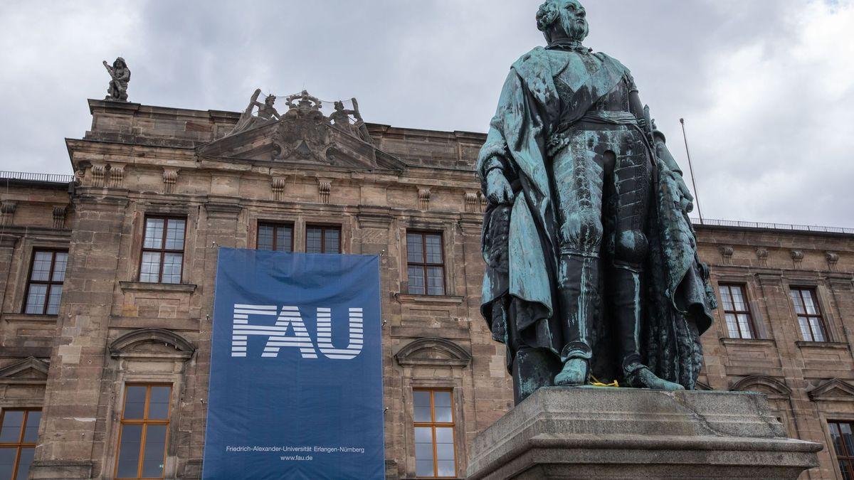 Ein Gebäude der FAU in Erlangen