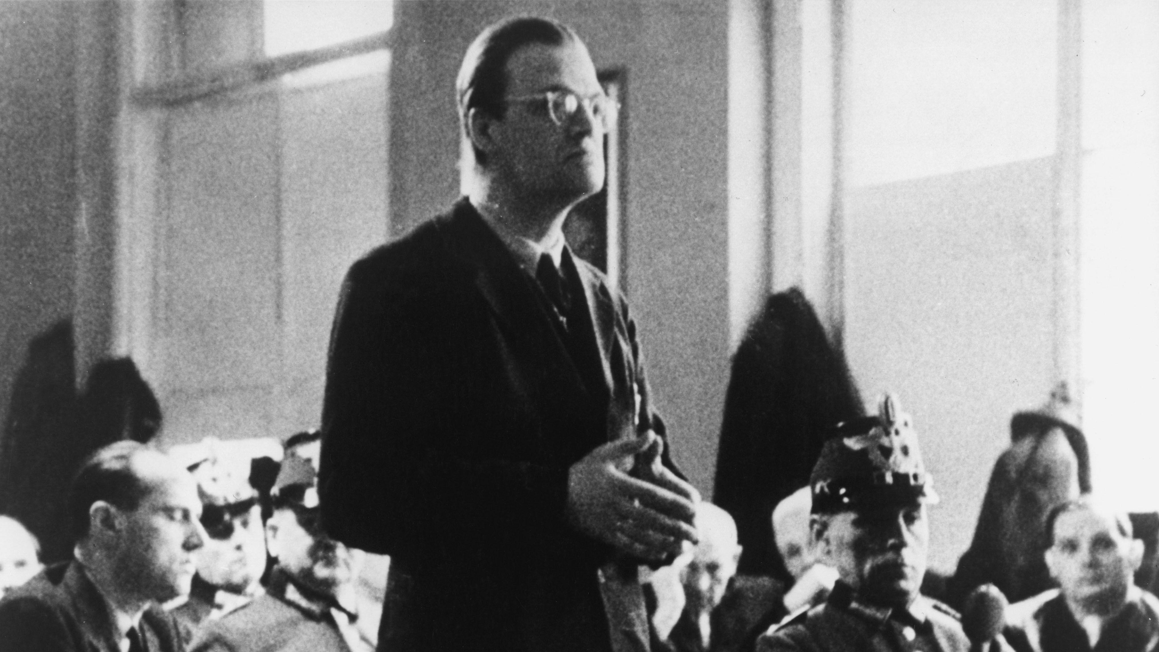 Jesuitenpater Alfred Delp wurde am 2. Februar 1945 von den Nationalsozialisten getötet.