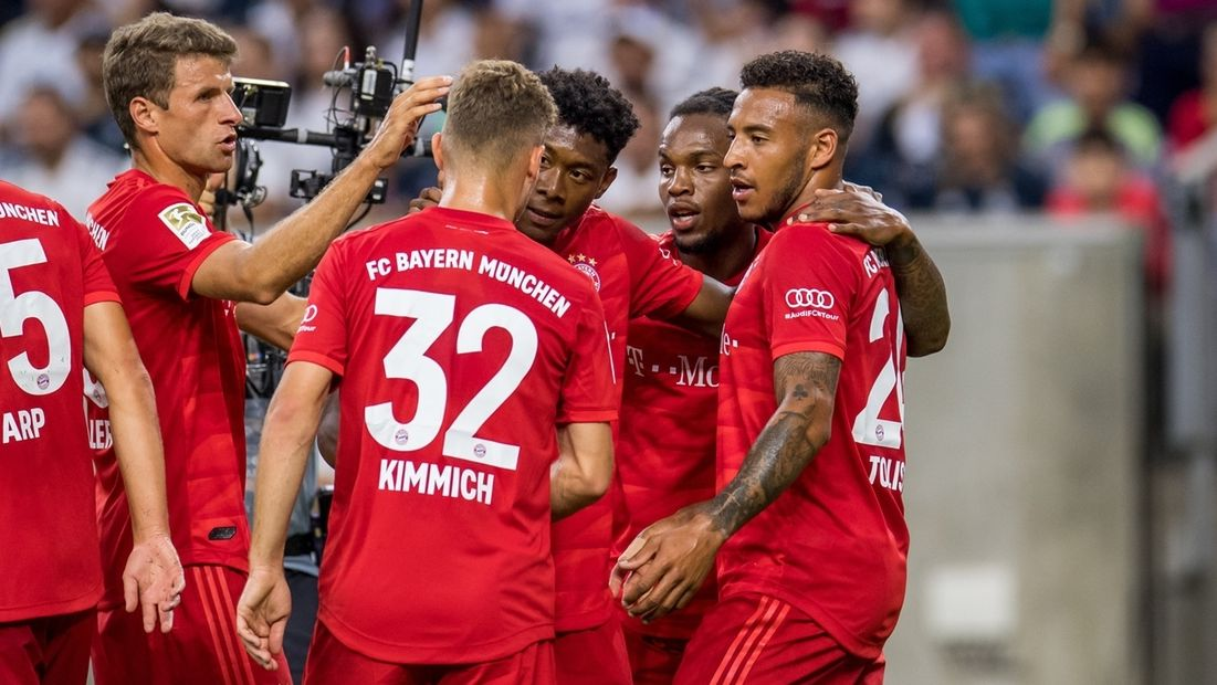 FC Bayern feiert Prestigeerfolg gegen Real Madrid im Houston, Texas, USA