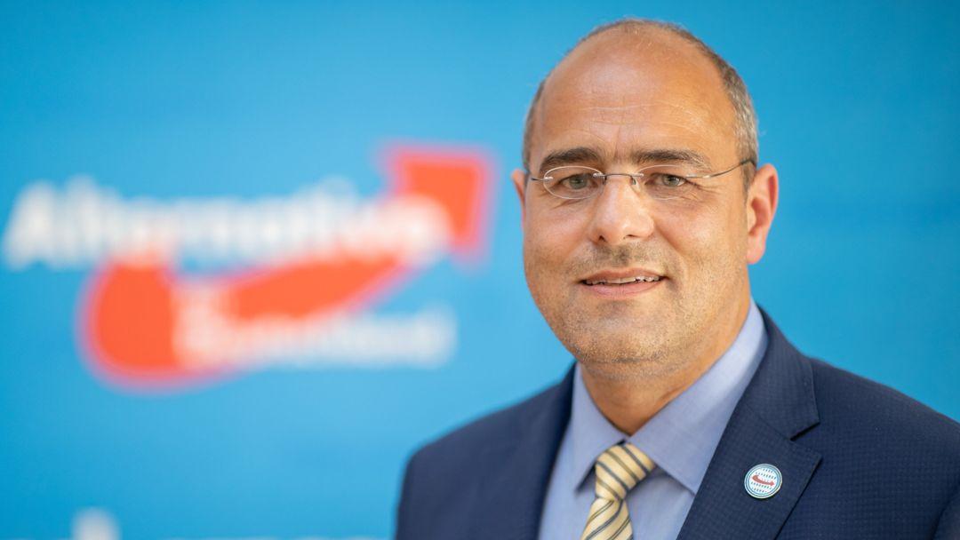 Peter Boehringer, Bundestagsabgeordneter und Vorsitzender des Haushaltsausschusses im Bundestag der AfD