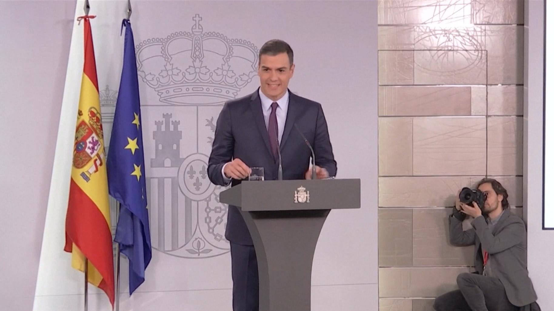 Premier Pedro Sánchez