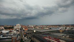 Alles grau in München. Das gute Wetter macht eine Pause. Der Klimawandel nicht. | Bild:BR