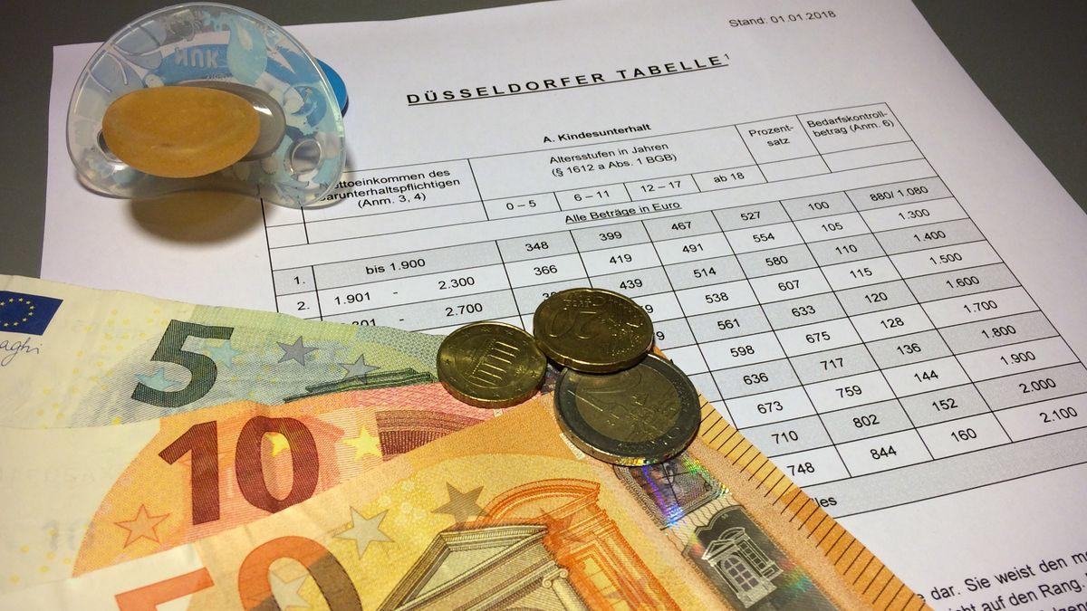 Schnuller, Geld und Formular