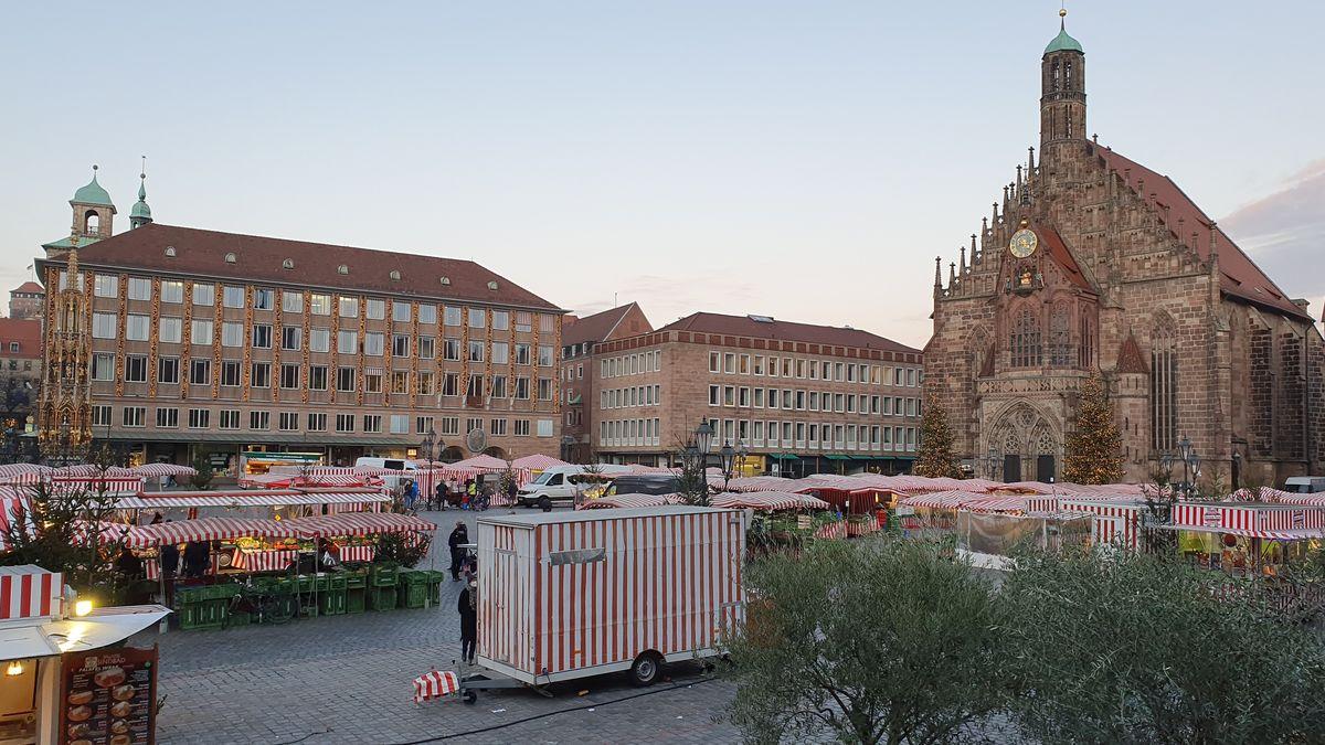 Hauptmarkt am 27. November 2020
