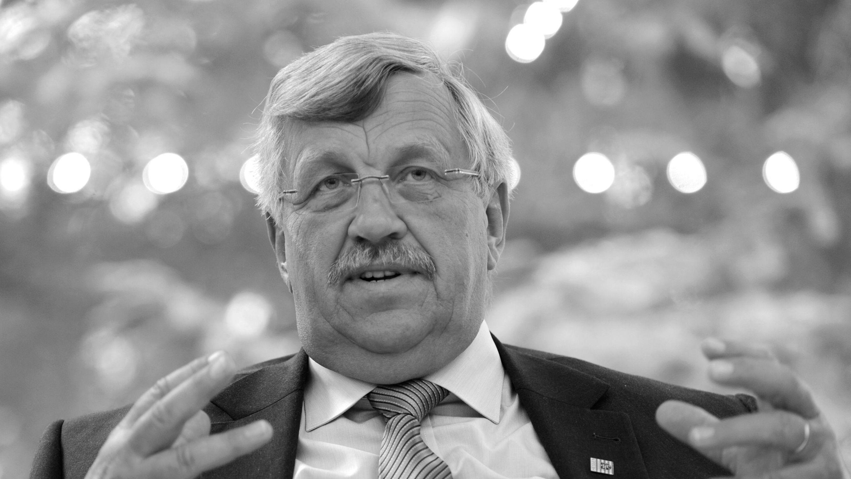 Der ermordete Regierungspräsident Walter Lübcke