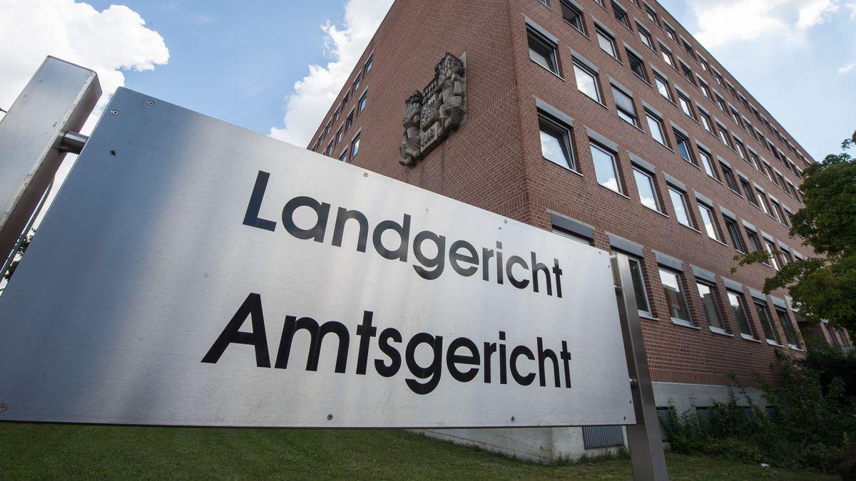Das Land- und Amtsgericht in Landshut