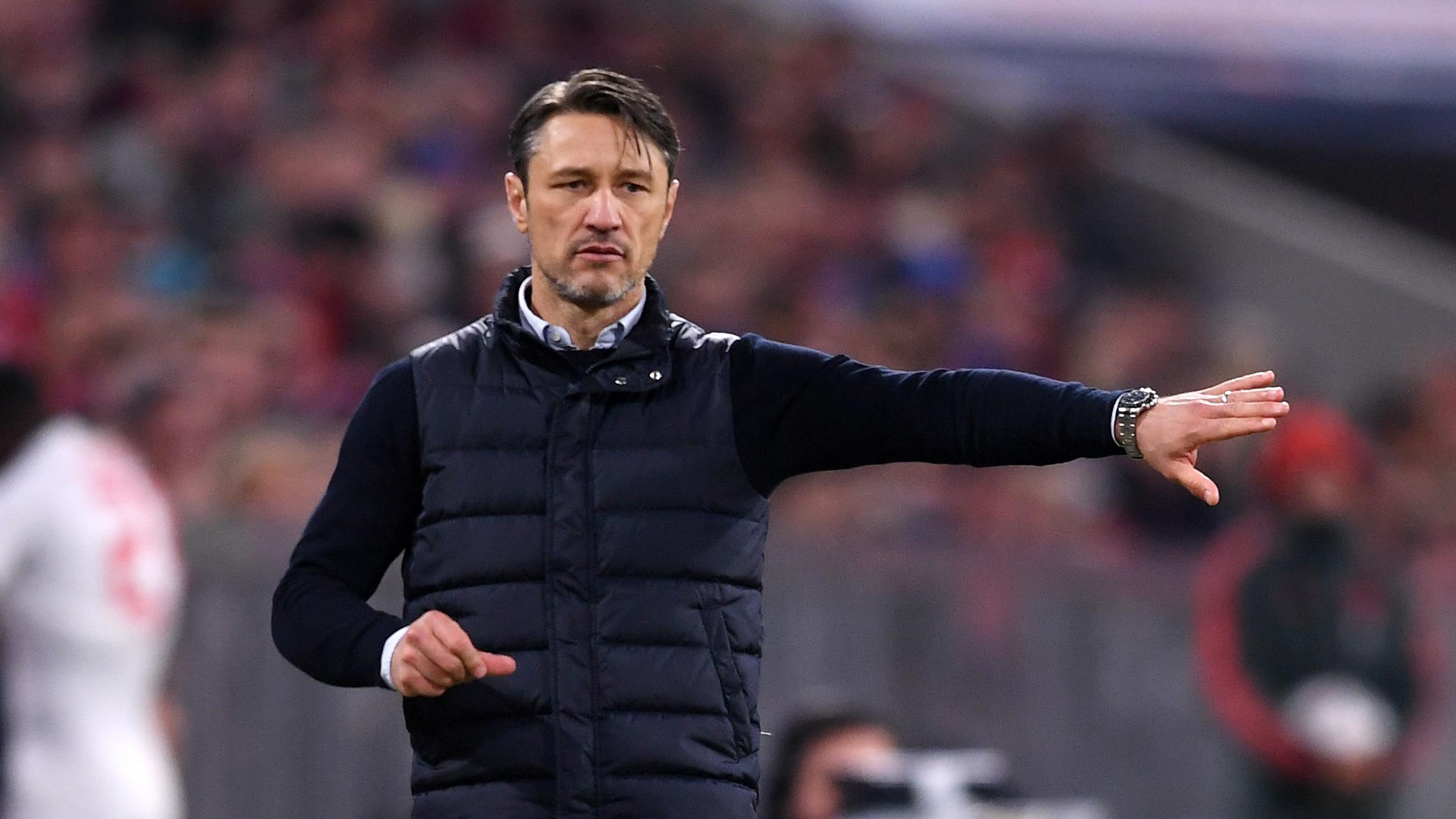 FC-Bayern-Trainer Niko Kovac gestikuliert.