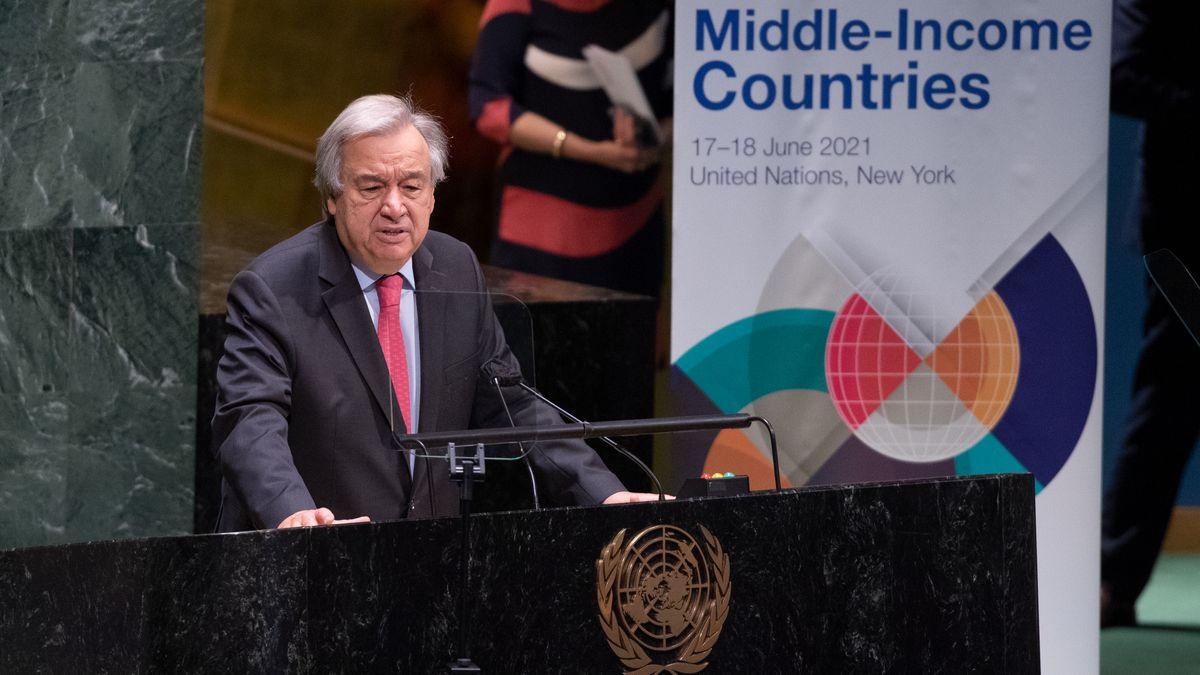 Wiedergewählt: UN-Generalsekretär Antonio Guterres