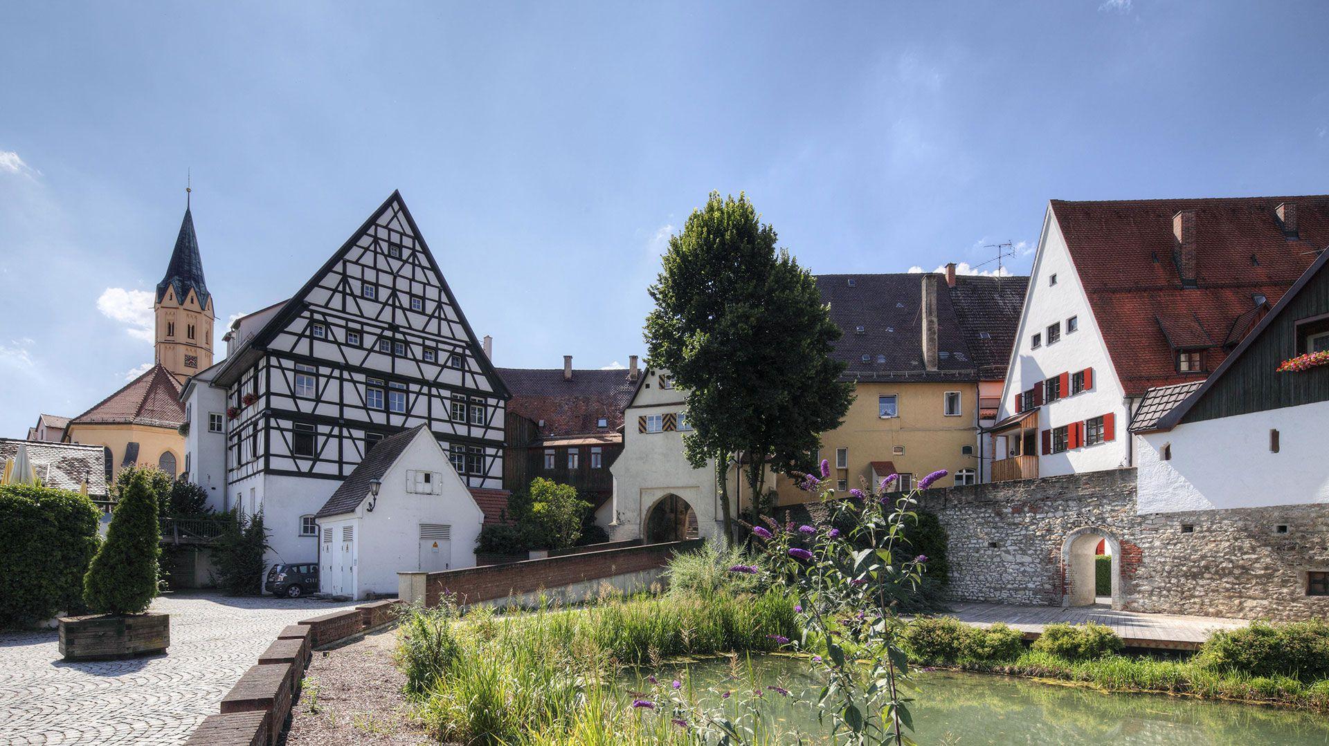 Stadtansicht von Lauingen
