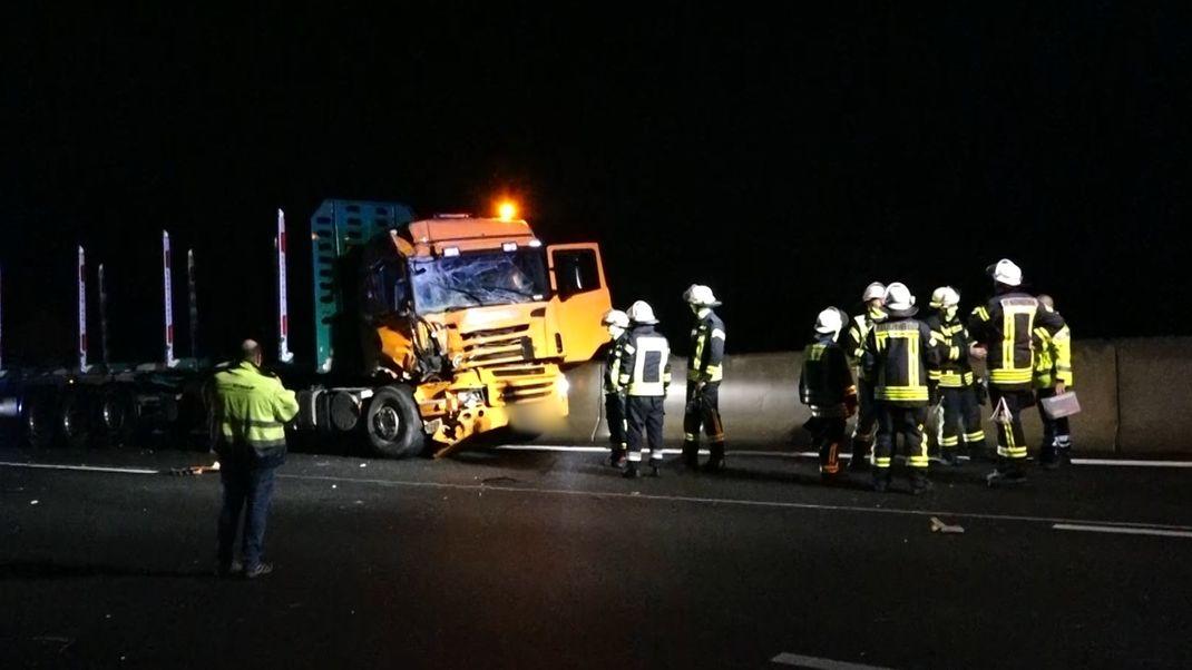 Lkw-Unfall auf der A9