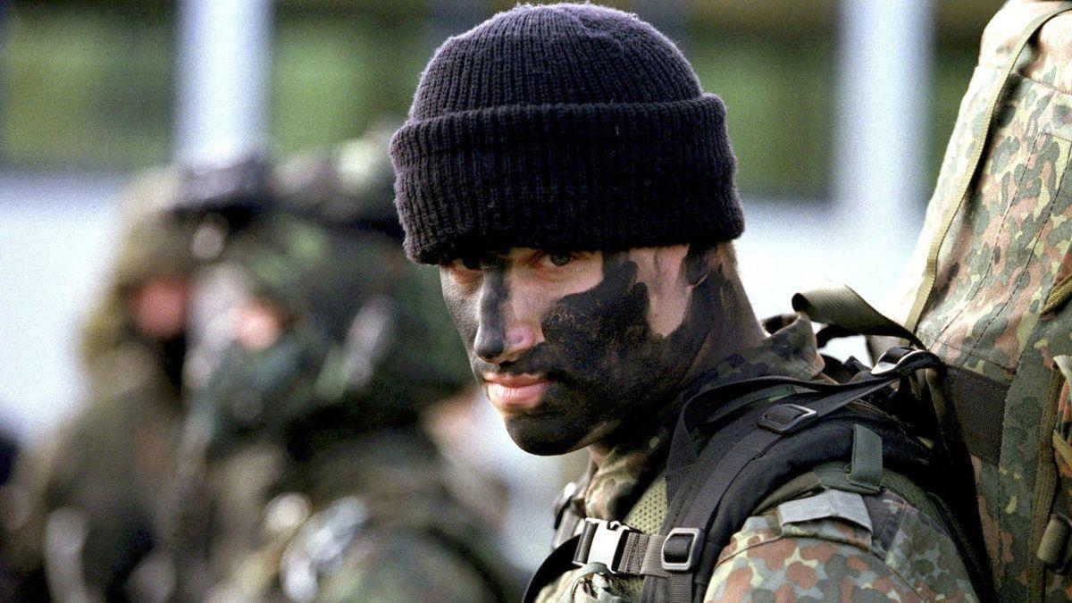 Ein Kämpfer der Sicherheitseinheit KSK (Symbolbild).