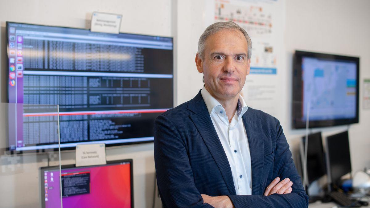 Wolfgang Kellerer,  Inhaber des Lehrstuhls für Kommunikationsnetze an der TU München.