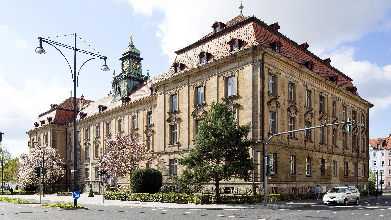 Justizgebäude in Schweinfurt