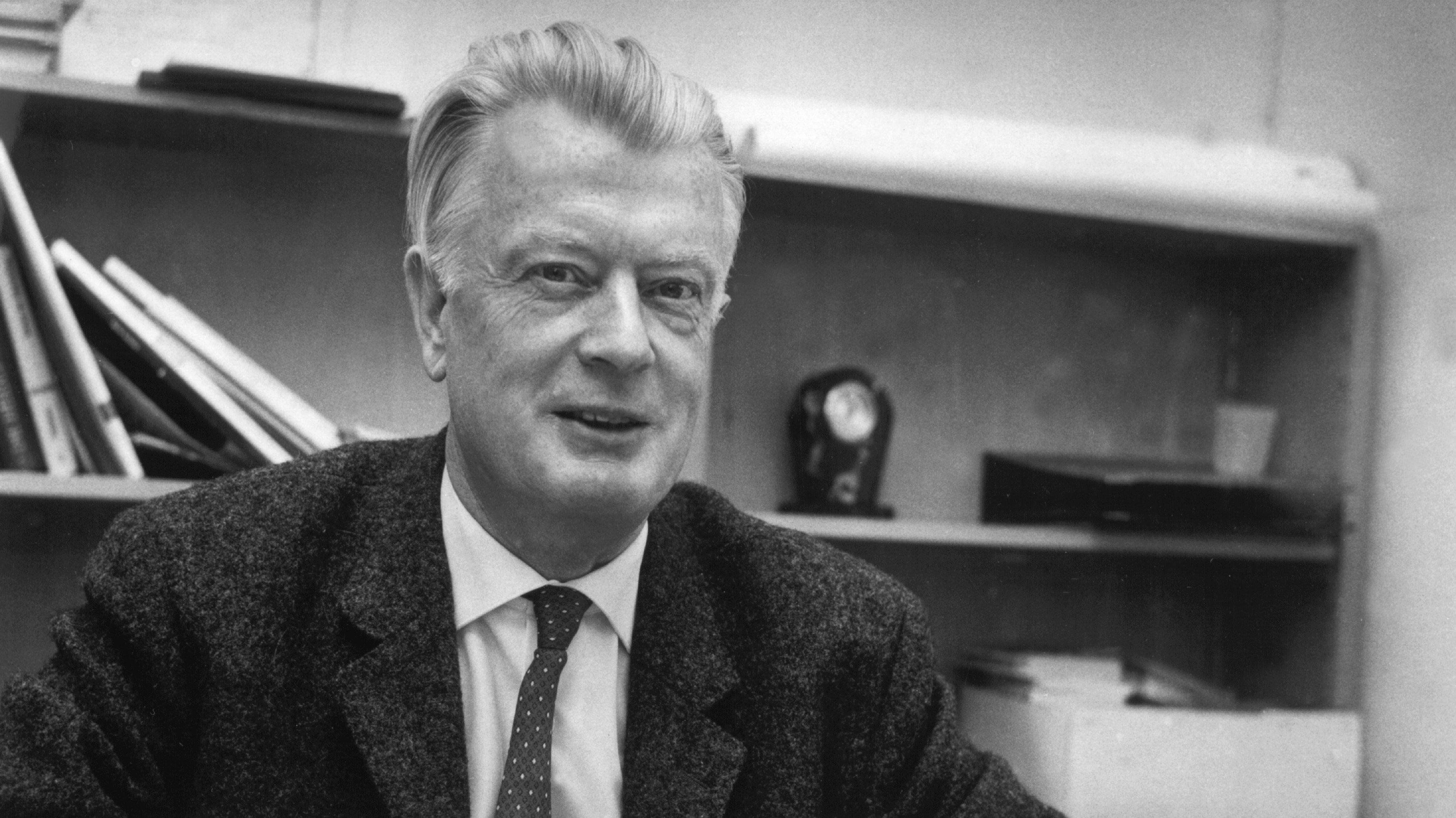 Pfarrer Harald Poelchau am 4. Oktober 1968