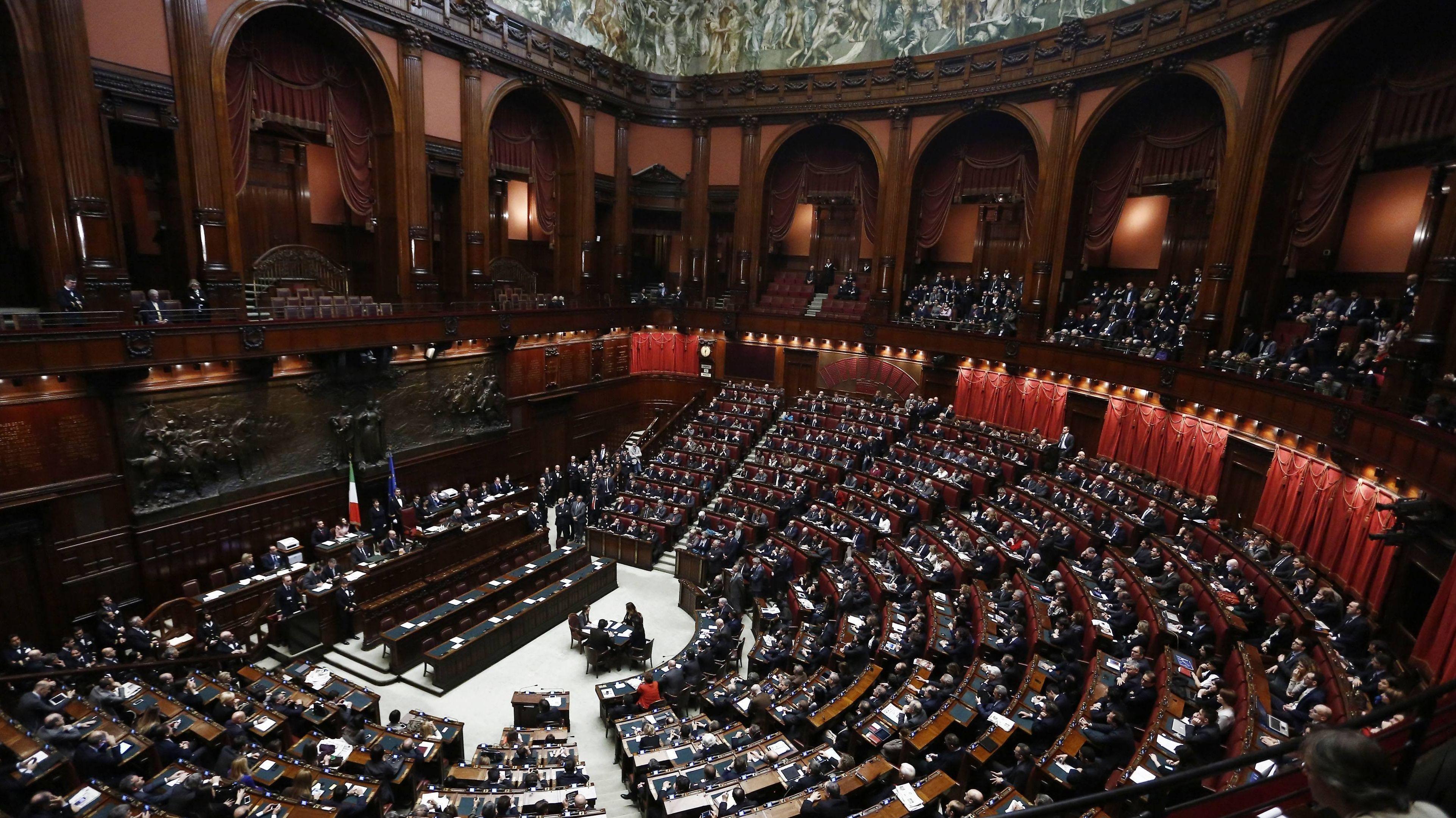Abgeordnetenhaus in Rom