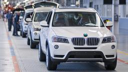 BMW produziert die meisten seiner X-Modelle im US-amerikanischen Werk Spartanburg | Bild:dpa