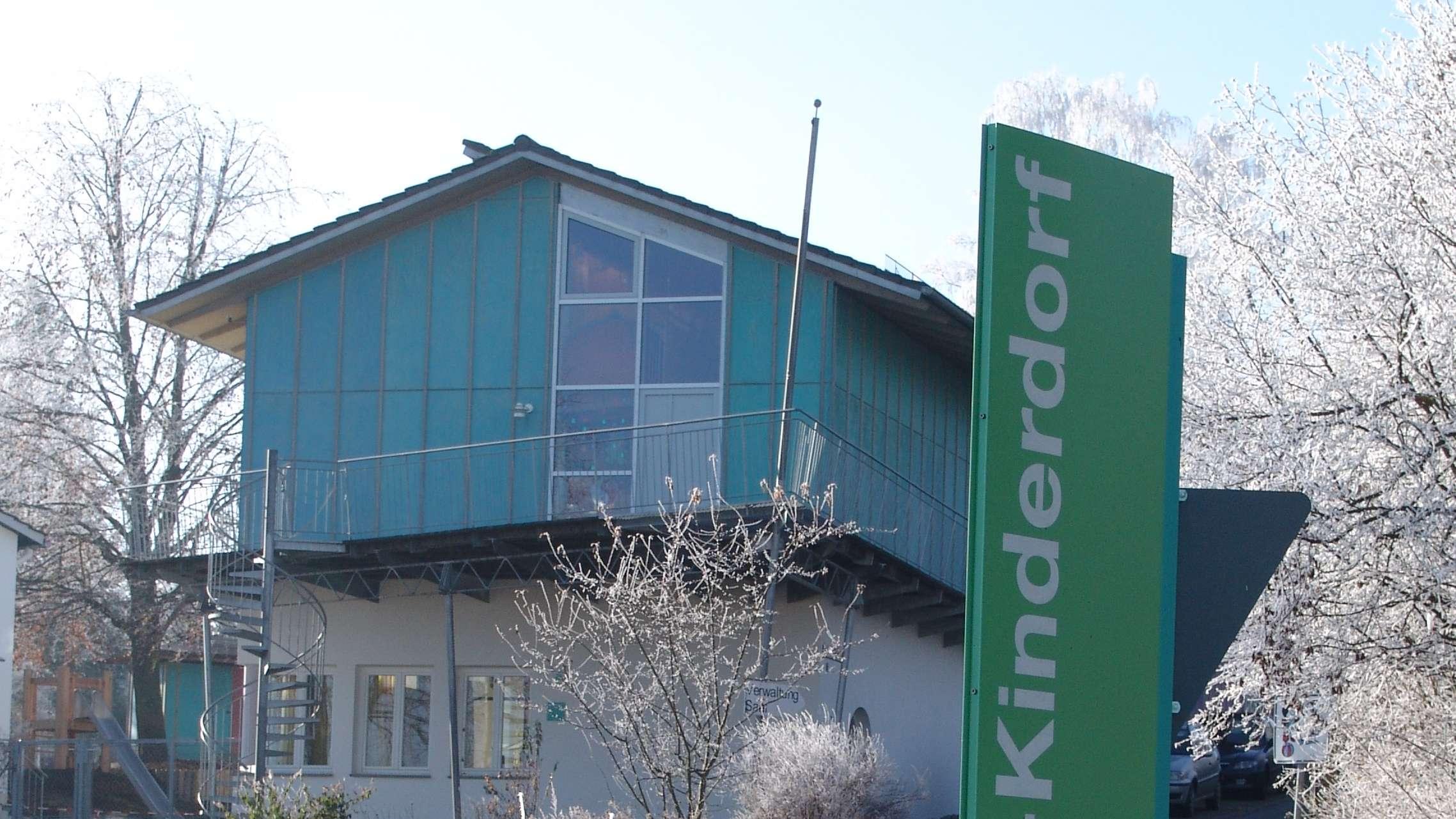 Ein Gebäude des SOS-Kinderdorfs in Dießen am Ammersee (Archivbild)