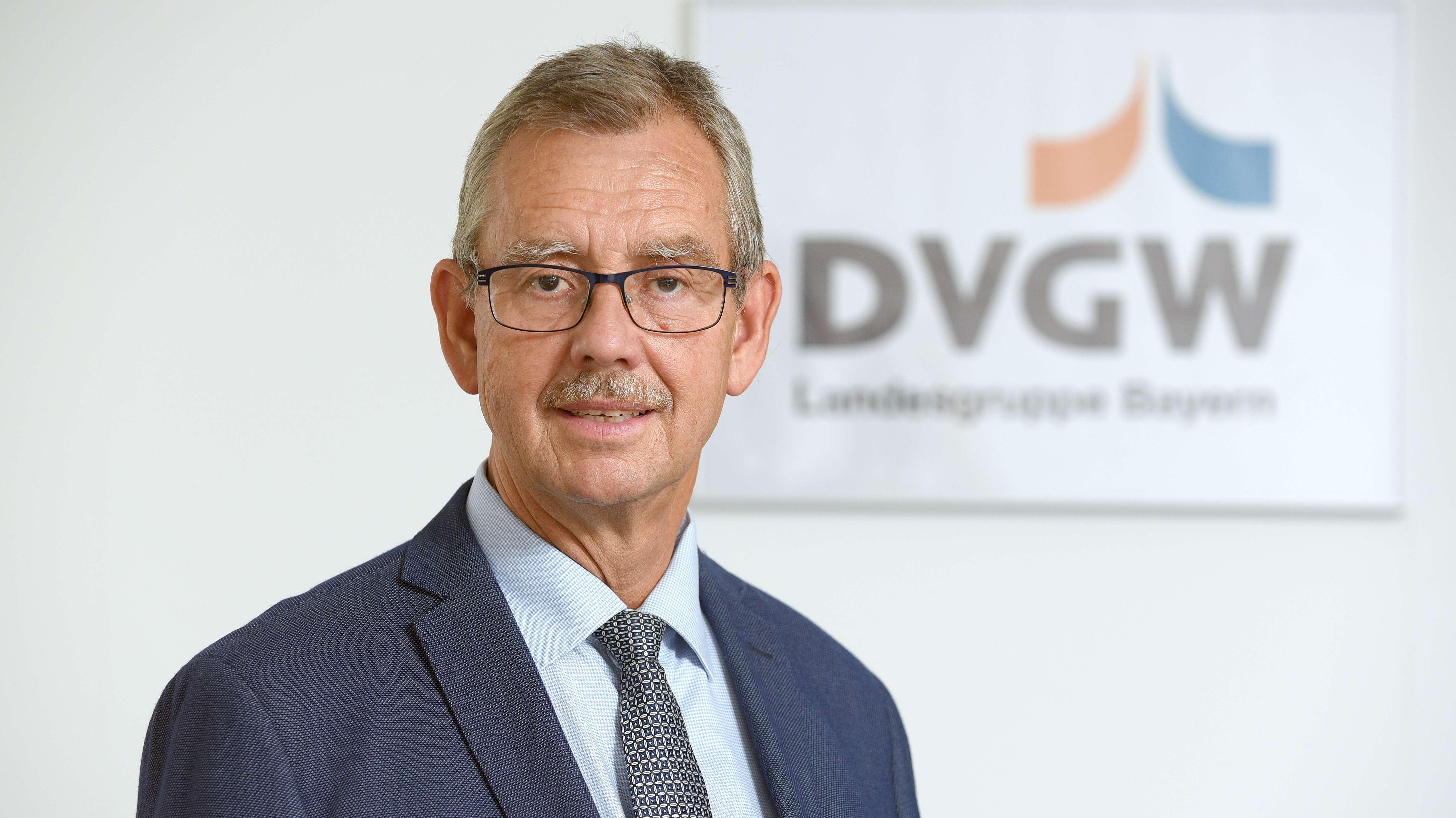 Jörn-Helge Möller, Geschäftsführer der bayerischen Landesgruppe des Deutschen Vereins des Gas- und Wasserfachs