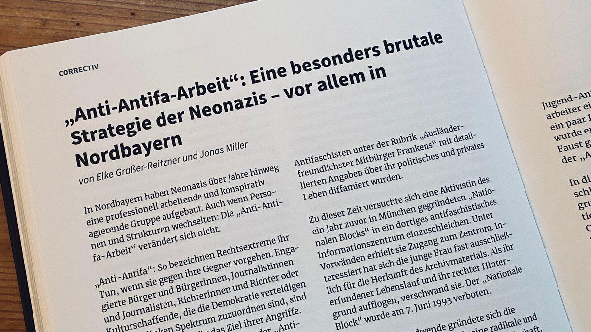 """Das BR/NN-Rechercheteam berichtet im Buch über die """"Anti-Antifa""""-Strategie"""