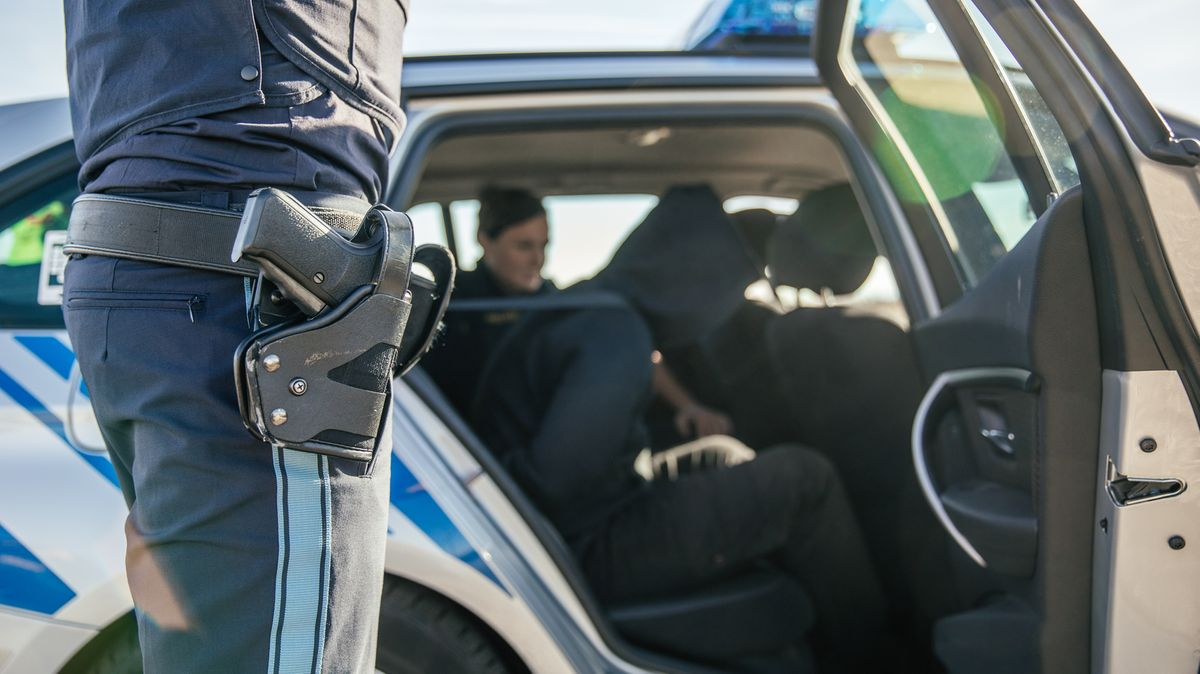 Symbolbild: Polizei bei der Festnahme