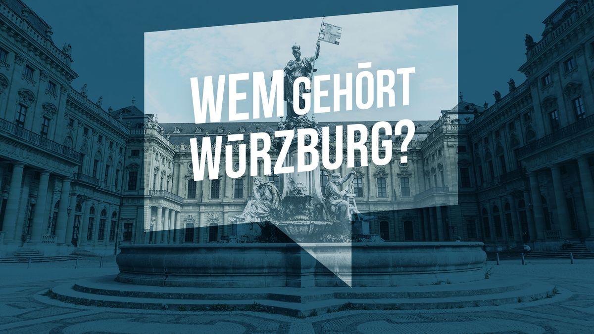 """Die Bürgerrecherche """"Wem gehört die Stadt"""" von BR und Correctiv hat viele Probleme in Würzburg aufgedeckt."""