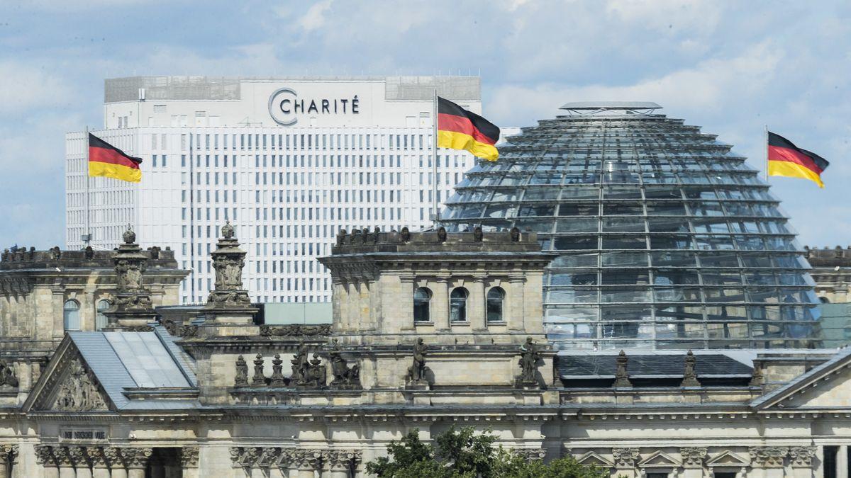 Deutscher Bundestag, Krankenhaus Charité