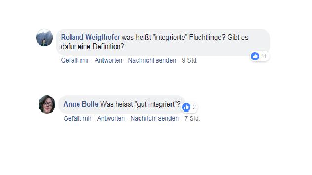 User-Kommentare auf www.facebook.com/br24