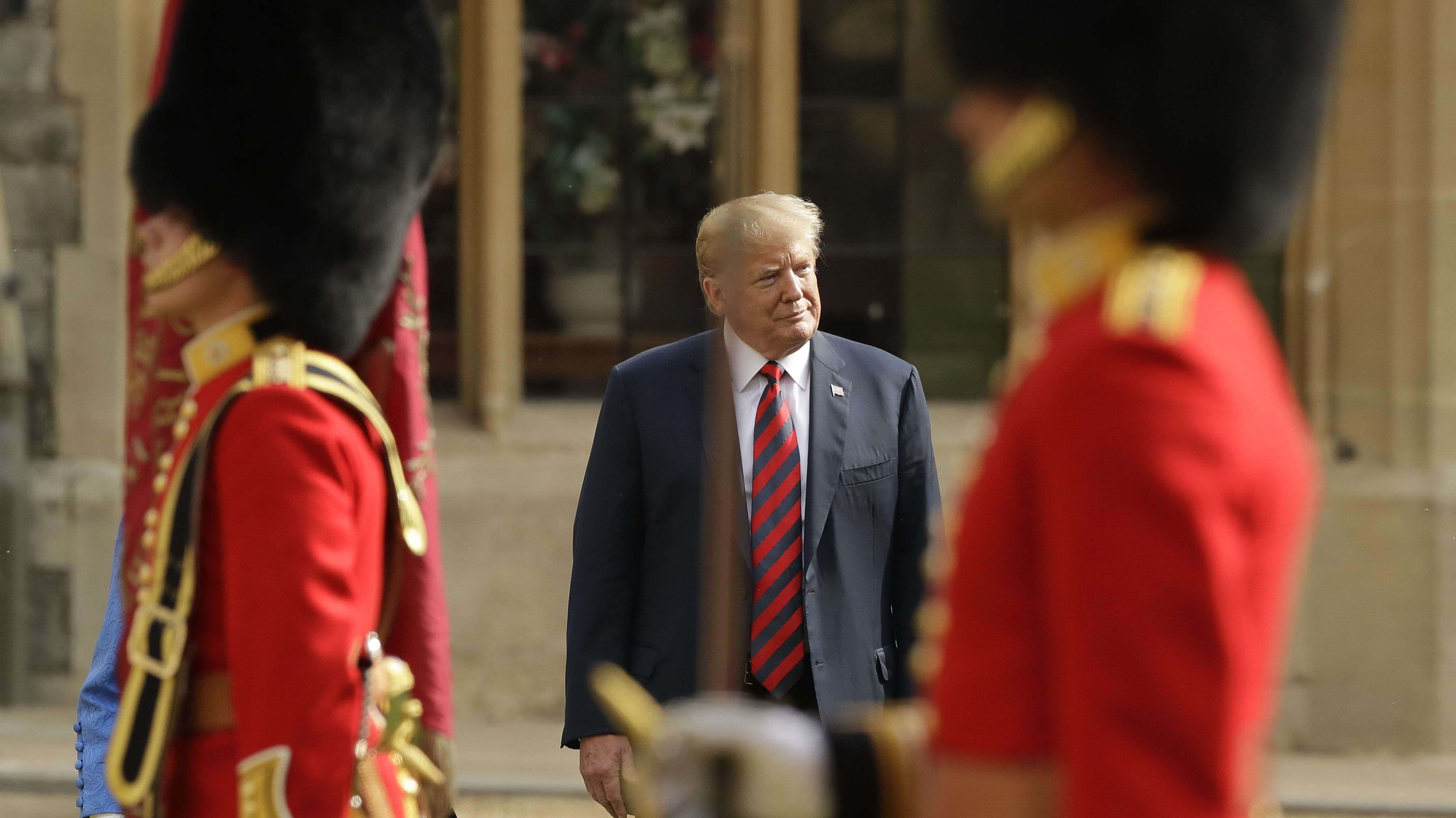 Archivbild: Donald Trump in London 2018