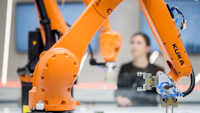 Roboter der Firma Kuka