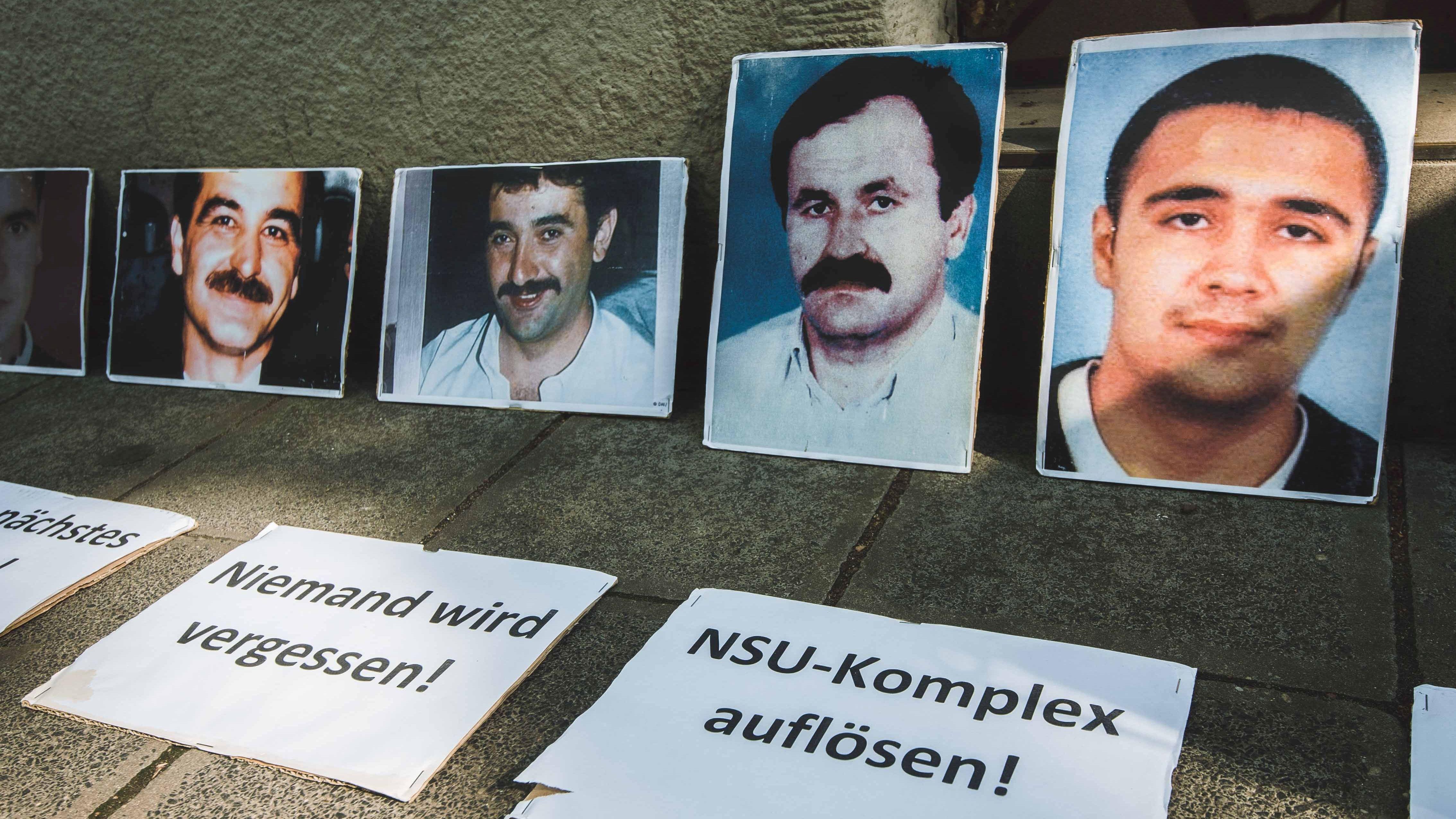 Gedenken an NSU-Opfer in Nürnberg