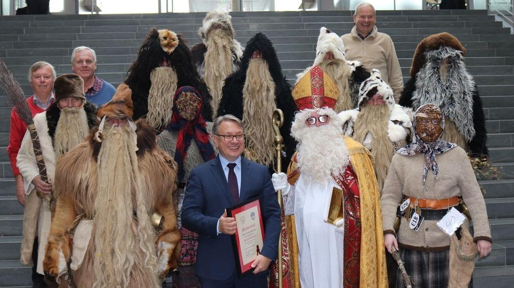 Erkheimer Klausen zu Besuch im Bundestag