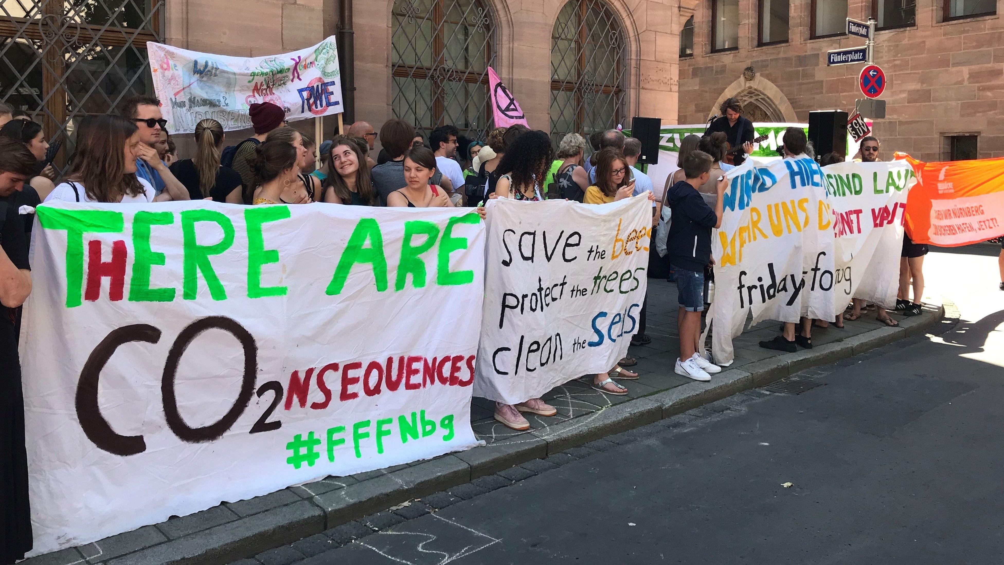 Fridays-for-Future Demos am letzten Schultag