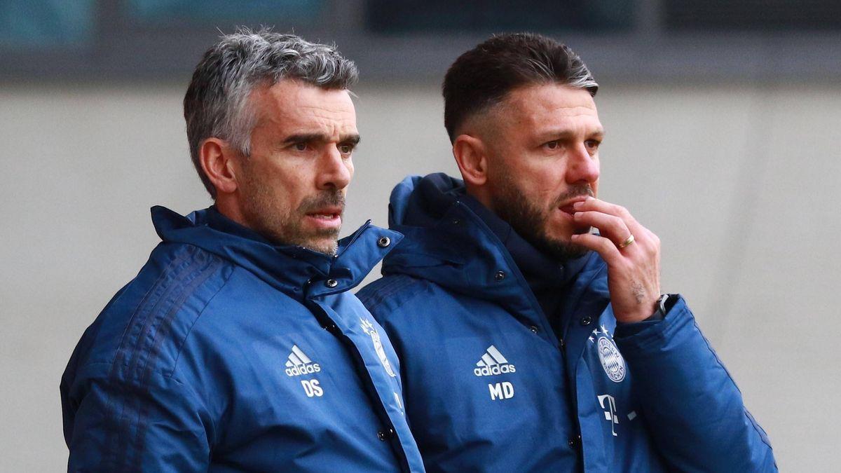 Danny Schwarz (links) und Martin Demichelis