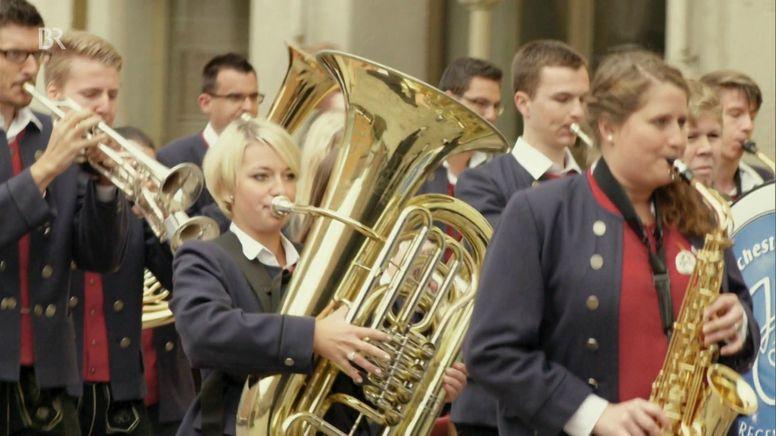 Jugendblasorchester St. Konrad Regensburg | Bild:Bayerischer Rundfunk