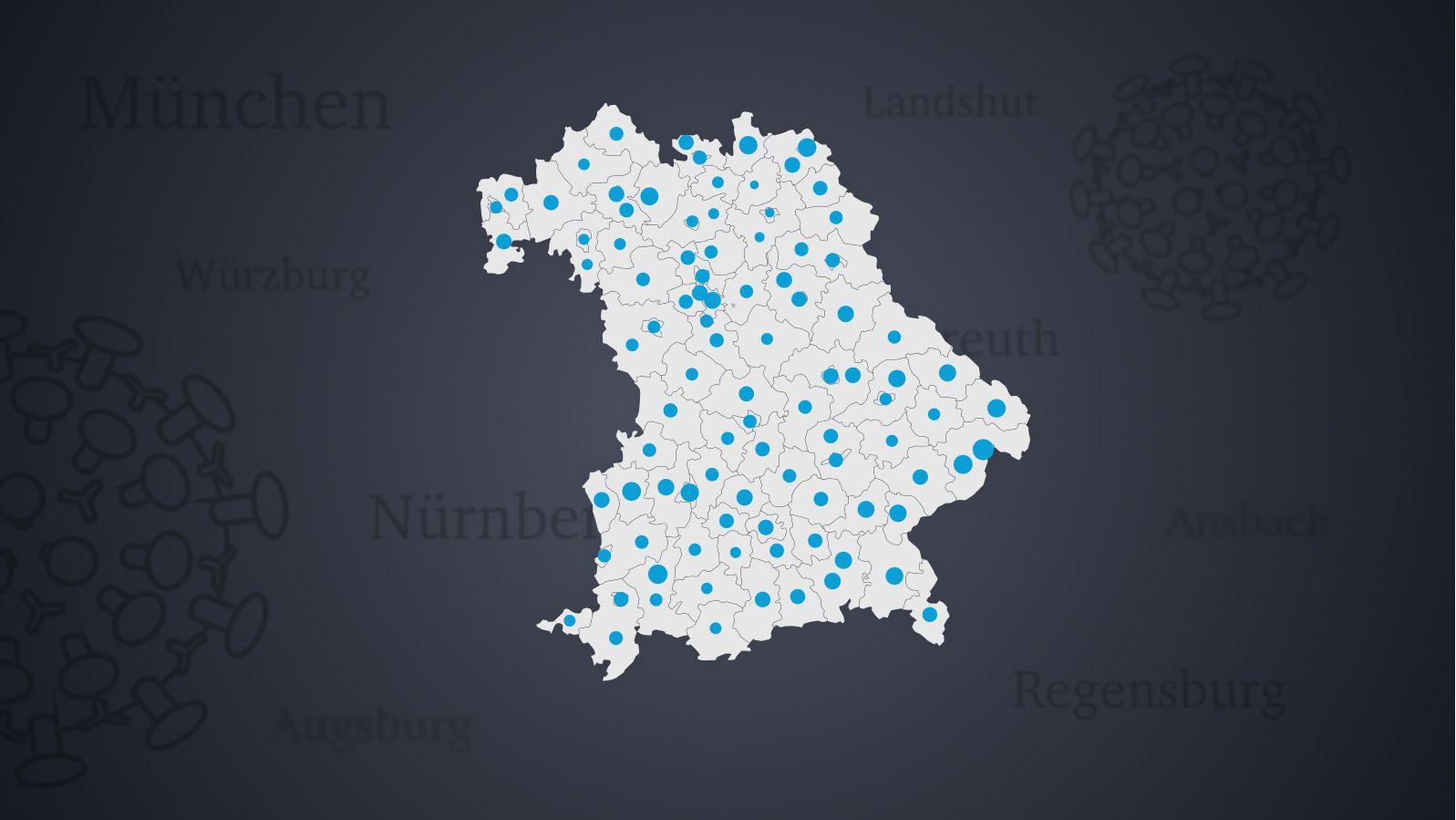 7 Tage Inzidenz Und Mehr Corona Zahlen In Bayerns Landkreisen Br24