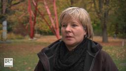 Dörte Hamann im Interview mit dem Bayerischen Rundfunk   Bild:BR24