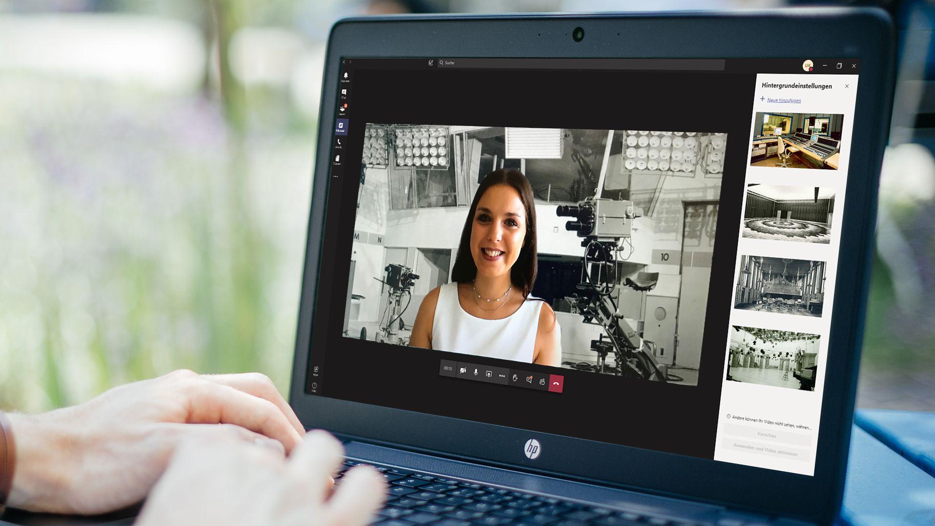 Wie Hintergrundbilder zu besseren Video-Meetings führen