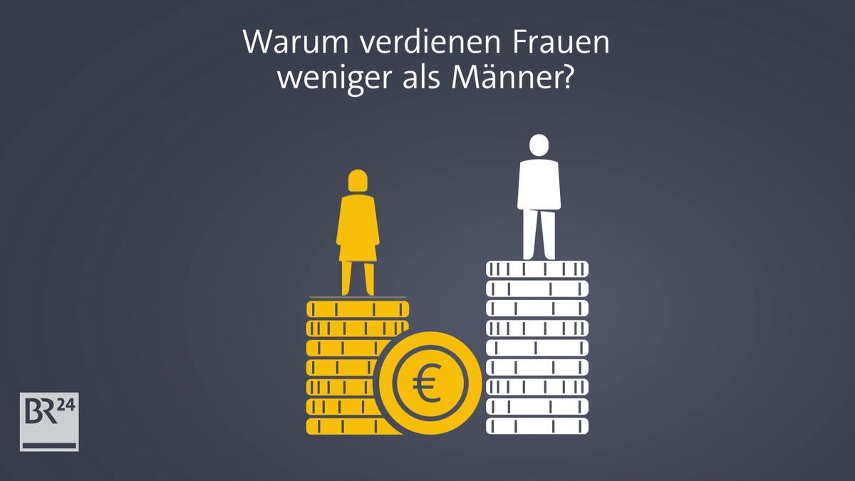 #fragBR24💡 Warum verdienen Frauen weniger als Männer?