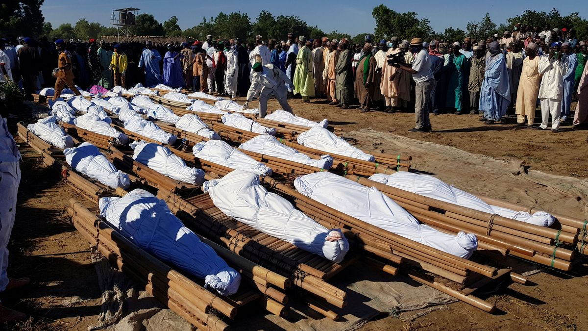 Opfer des Angriffs in Zabarmari