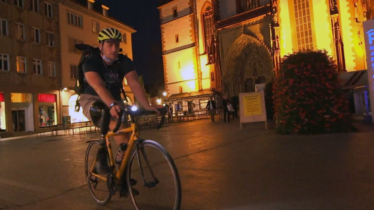Fahrradkurier Sven Sittler