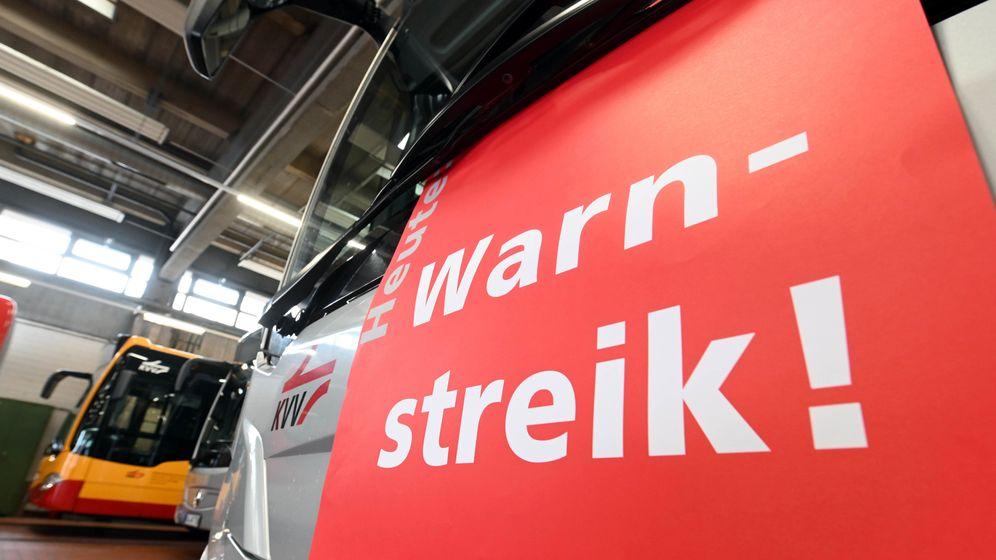 Für Dienstag hat Verdi Streiks in elf bayerischen Städten angekündigt   Bild:pa/dpa